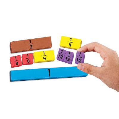 Educational Insights Foam Magnetic Fraction Strips