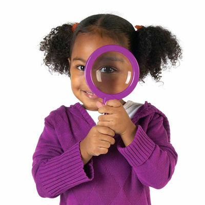 Learning Resources Primary Science Jumbo Magnifiers Set of 12 in Display (without stand)