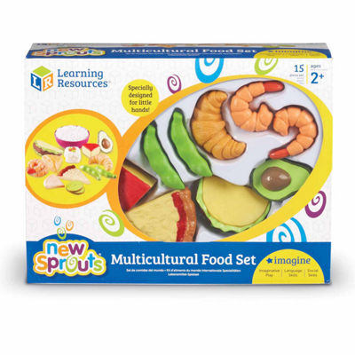 Learning Resources New Sprouts® Multicultural Food Set