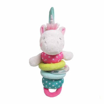 unicorn pulldown stuffed animal