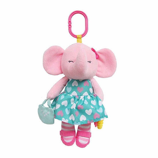 Carter's Elephant Activity Stuffed Animal