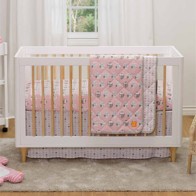 Living Textiles Mod Crib Bedding Set