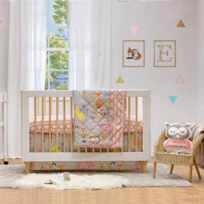 Lolli Living Enchanted Garden 4-pc. Crib Bedding Set