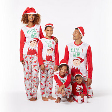 elf on the shelf family pajamas women 39 s jcpenney. Black Bedroom Furniture Sets. Home Design Ideas
