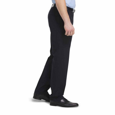 Van Heusen Non Stop Stretch Chino Classic Fit Flat Front Pants