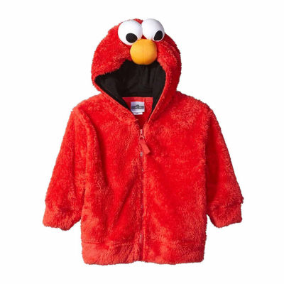 Sesame Street Toddler Girls Elmo Costume Hoodie with Faux Fur and 3D Face  sc 1 st  JCPenney & Sesame Street Toddler Girls Elmo Costume Hoodie with Faux Fur and 3D ...