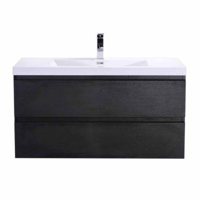 "Moreno Bath MOB 42"" Wall Mounted Modern Bathroom Vanity With Reinforced Acrylic Sink"""