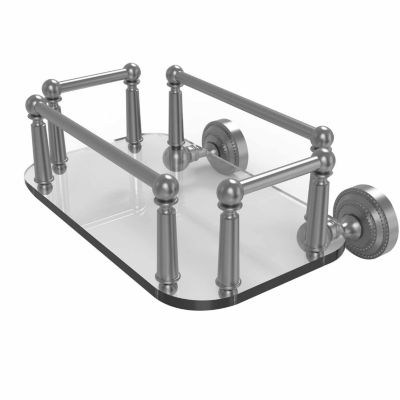 Allied Brass Waverly Place Collection Wall MountedGlass Guest Towel Tray