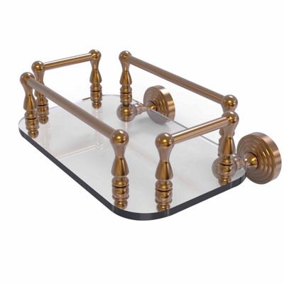 Allied Brass Sag Harbor Collection 24 Inch Towel Bar With Integrated Hooks