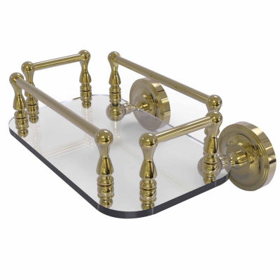 Allied Brass Sag Harbor Collection 18 Inch Towel Bar With Integrated Hooks