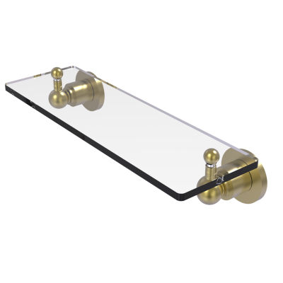Allied Brass Astor Place 16  IN  Glass Vanity Shelf  With Beveled Edges