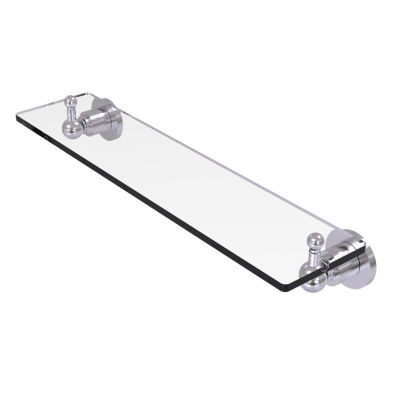 Allied Brass Astor Place 22  IN  Glass Vanity Shelf  With Beveled Edges