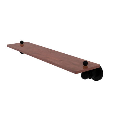 Allied Brass Astor Place Collection 22 IN Solid Ipe Ironwood Shelf