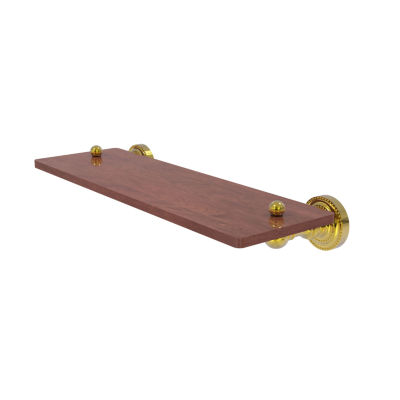 Allied Brass Dottingham Collection 16 IN Solid IpeIronwood Shelf