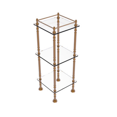 Allied Brass Three Tier Etagere With 14 IN X 14 INShelves