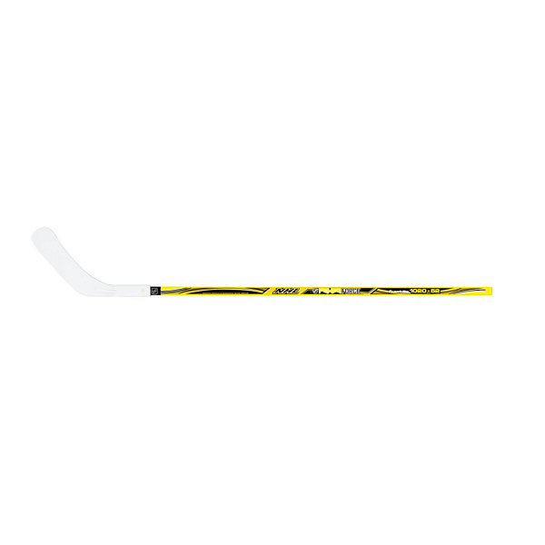 "Franklin Sports NHL Yellow 1020-40"" Power Force Left Shot Street Hockey Stick"""