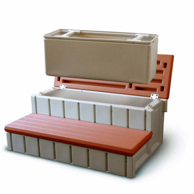 Blue Wave Confer Spa Step with Storage