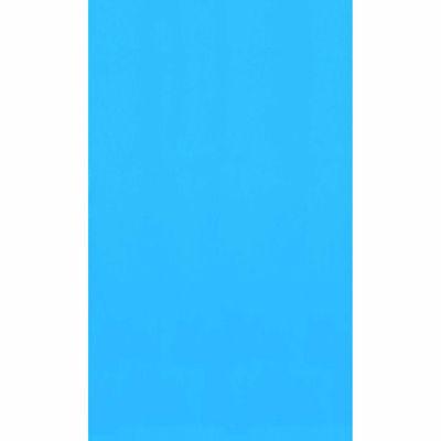 Swimline Blue 27-ft Round Standard Gauge Overlap Liner - 48/52-in