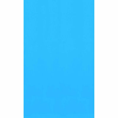 Swimline Blue 12-ft x 24-ft Oval Standard Gauge Overlap Liner - 48/52-in