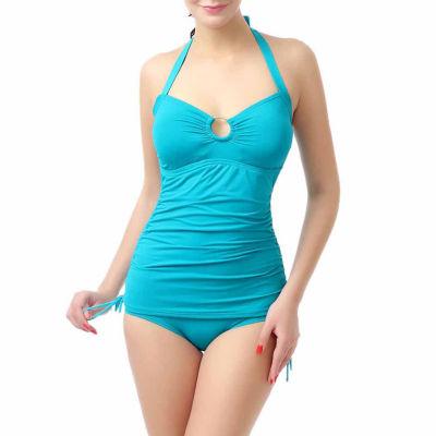 phistic Women's Chloe Tankini Top  Bikini 2Piece Swimwear Set