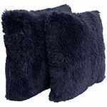 Thro by Marlo Lorenz Chubby Faux Fur Throw Pillow2 Pack
