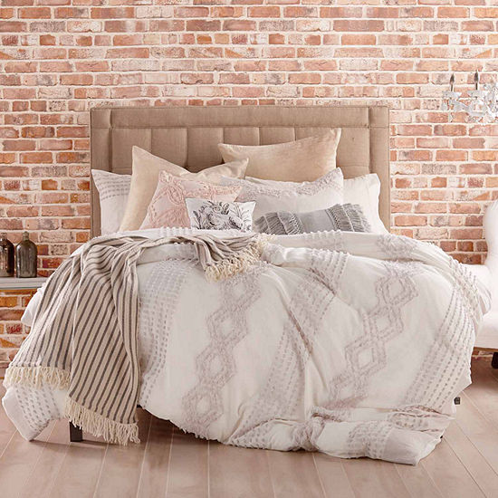 Peri Cut Geo Duvet Cover