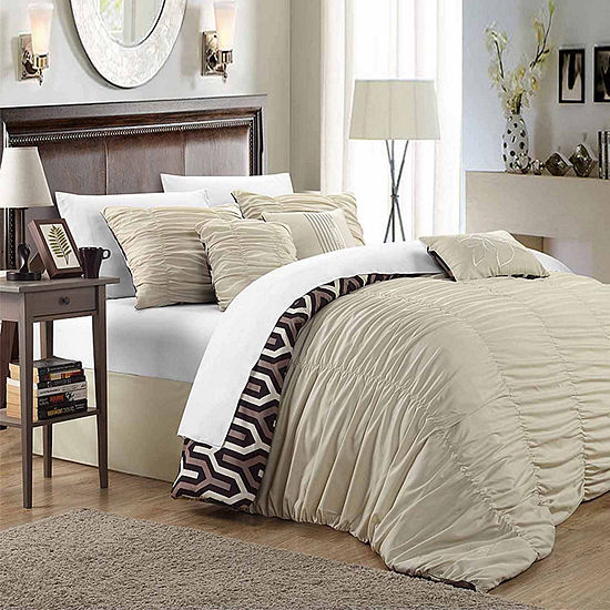 Chic Home Elissa 3-pc. Reversible Duvet Cover Set