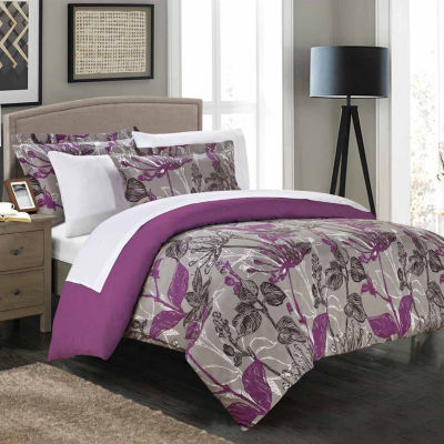 Chic Home Wildflowers 2-pc. Duvet Cover Set