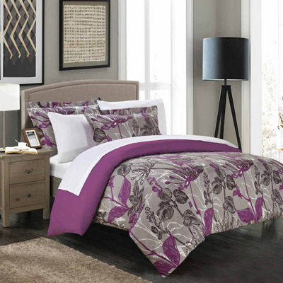 Chic Home Wildflowers 7-pc. Duvet Cover Set