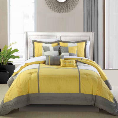 Chic Home Dorchester 8-pc. Midweight Comforter Set