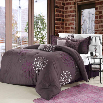 Chic Home Cheila 8-pc. Midweight Comforter Set