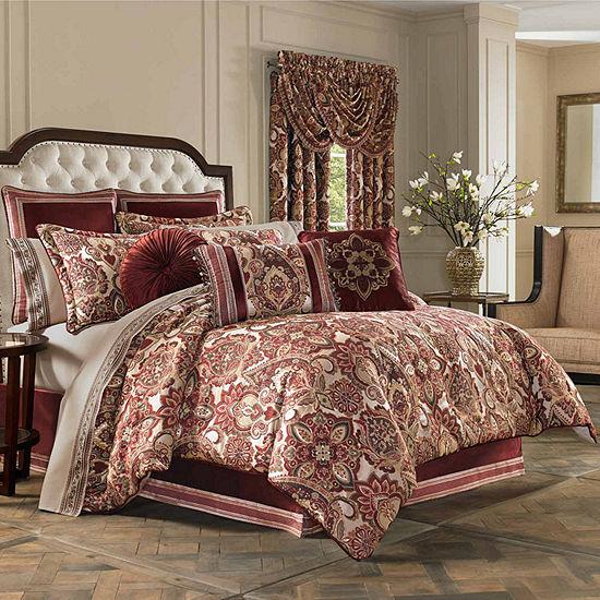 Queen Street Reese 4 Pc Comforter Set