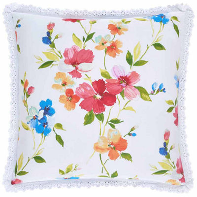 Queen Street Sunshine 20x20 Square Throw Pillow