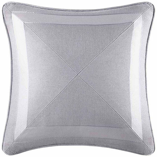 Five Queens Court Kennedy Square Throw Pillow
