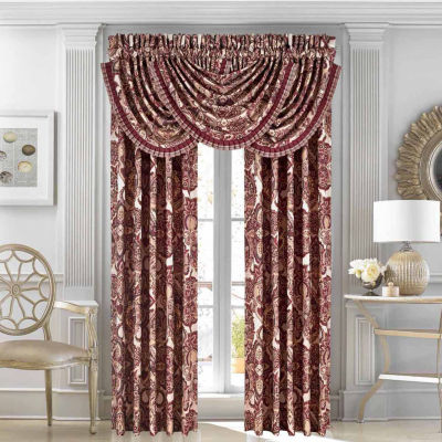Queen Street Reese Tie-Top Curtain Panel