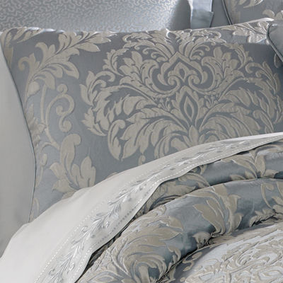 Five Queens Court Faith 4-pc. Damask + Scroll Midweight Comforter Set