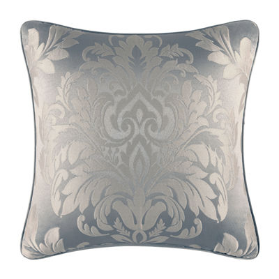 Five Queens Court Faith Square Throw Pillow