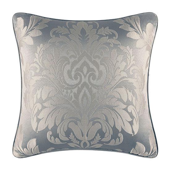 Five Queens Court Faith Square Throw Pillow