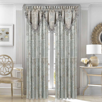 Five Queens Court Abigail 2 Pair Rod Pocket Curtain Panels