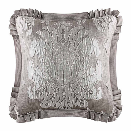 Five Queens Court Carly Square Throw Pillow
