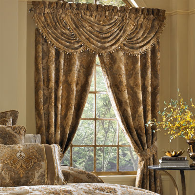 Queen Street Brooke Rod-Pocket Curtain Panel