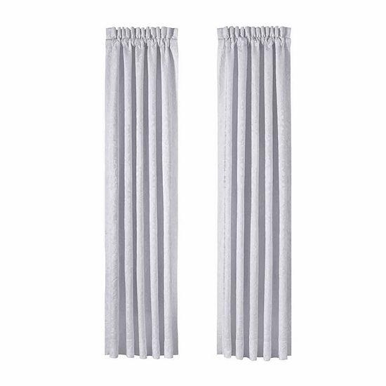 Queen Street Courtney 2 Pair Rod-Pocket Curtain Panels