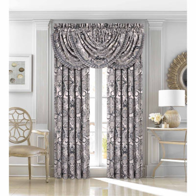 Queen Street Giselle Rod-Pocket Curtain Panels