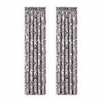 Queen Street Giselle Rod-Pocket Set of 2 Curtain Panel