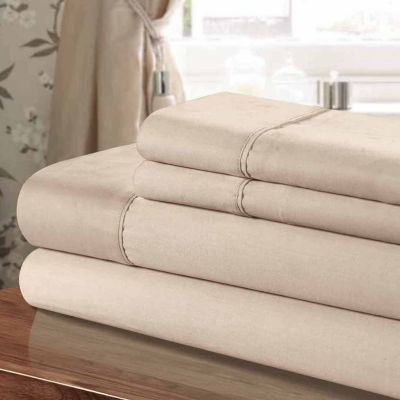 Chic Home Cotton 300tc Sateen Sheet Set