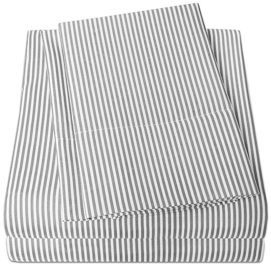 Loft Collection Modern Classic Stripe Sheet Set