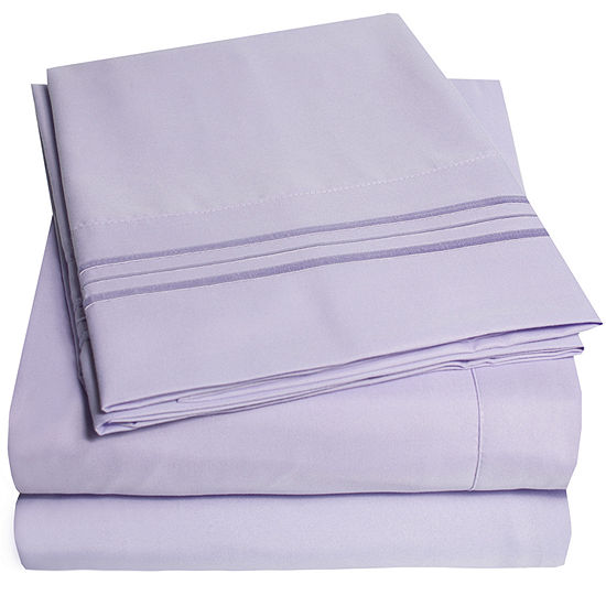 1800tc 4-pc. Premium Microfiber Deep Pocket Sheet Sets