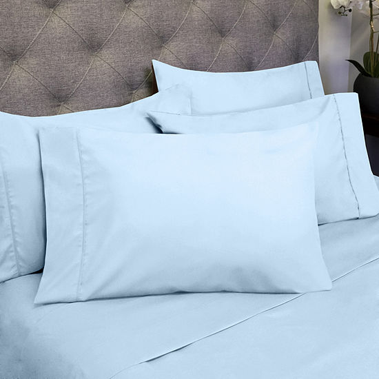 Deluxe Sheet Set 1500 Thread Count Egyptian Quality Deep Pocket Bed Sheets with Bonus Pillowcases