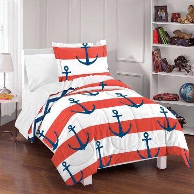 Dream Factory Sail Away Comforter And Sham Set