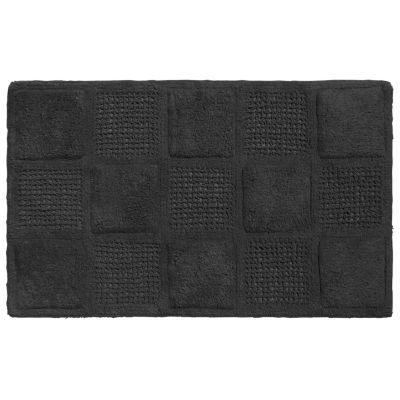 "100% Cotton Bathroom Bath Rug Mat Waffle Weave Pattern 21""x34"""